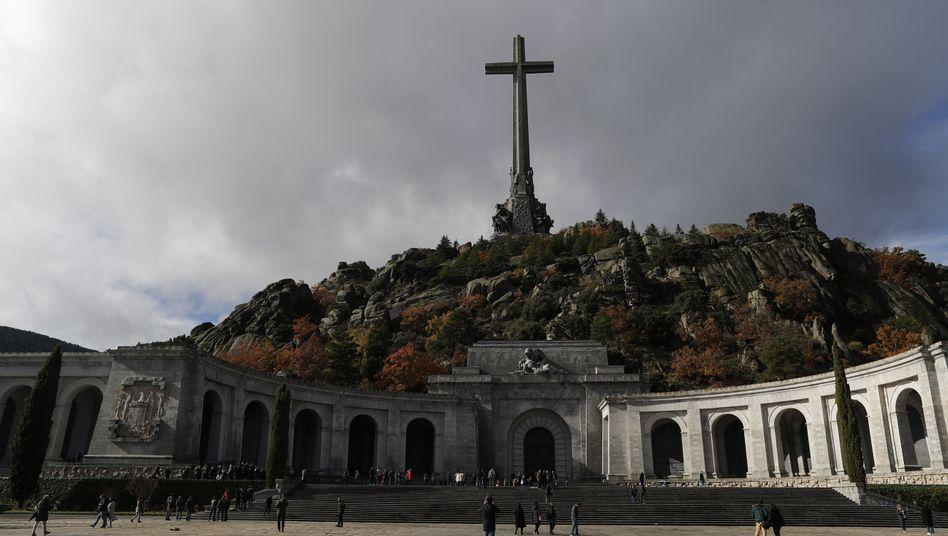 Gedenkstätte Valle de los Caídos bei El Escorial