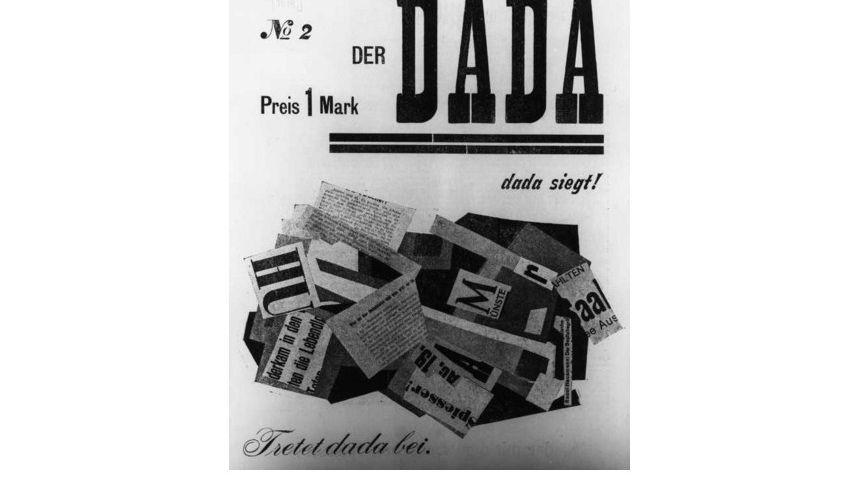 """Manifeste ohne Inhalt: Die zweite Ausgabe der in Berlin herausgegebenen Zeitschrift """"Dada"""" aus dem Jahr 1919"""