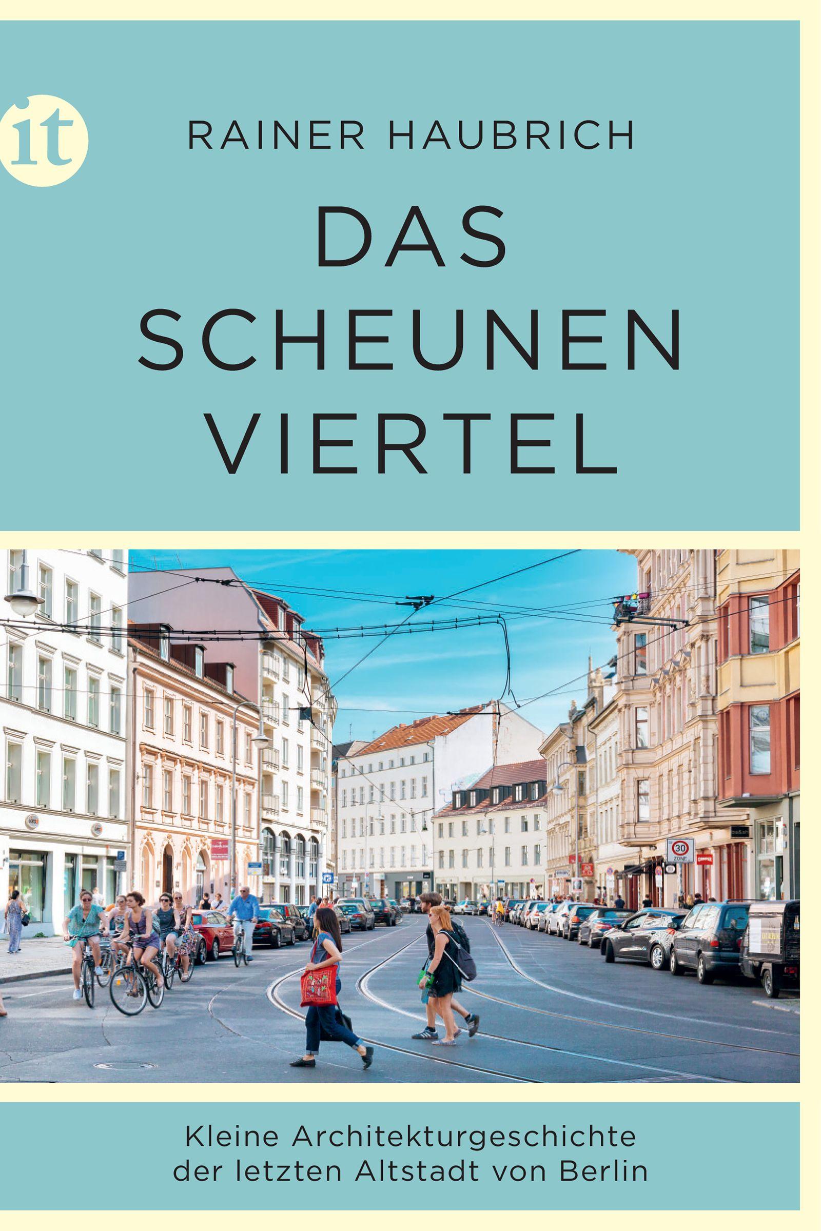 Buch/ Rainer Haubrich: Das Scheunenviertel COVER