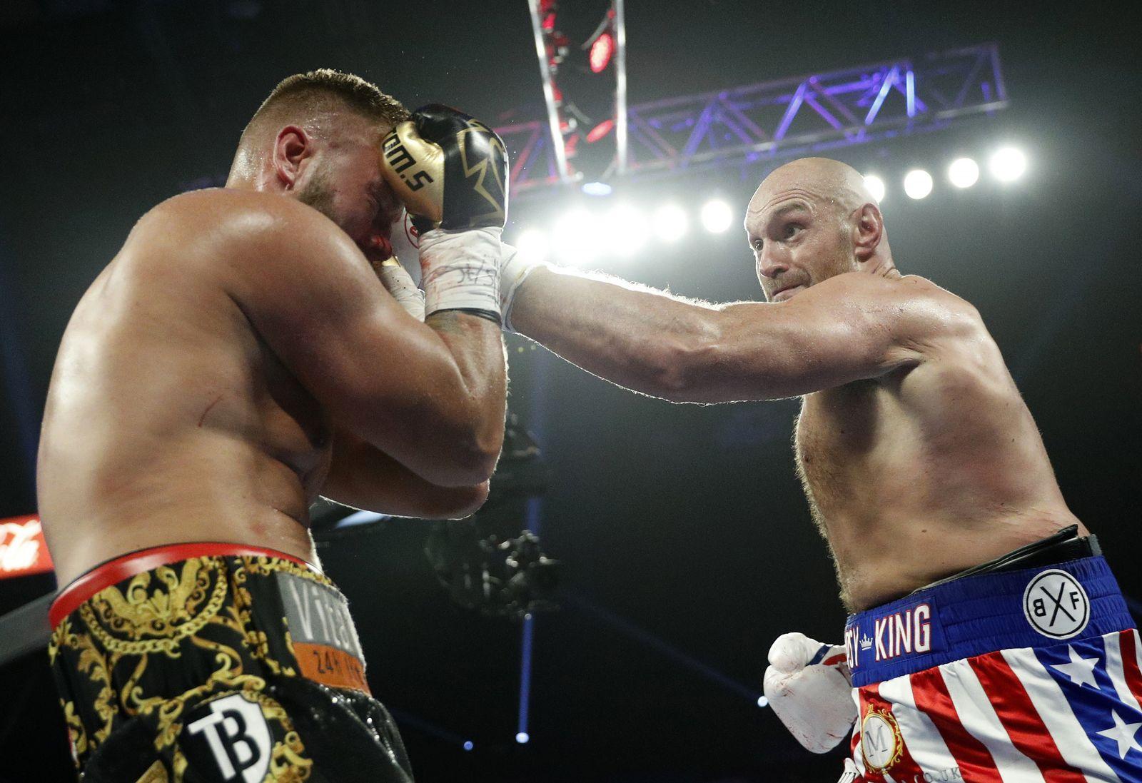 Fury Schwarz Boxing