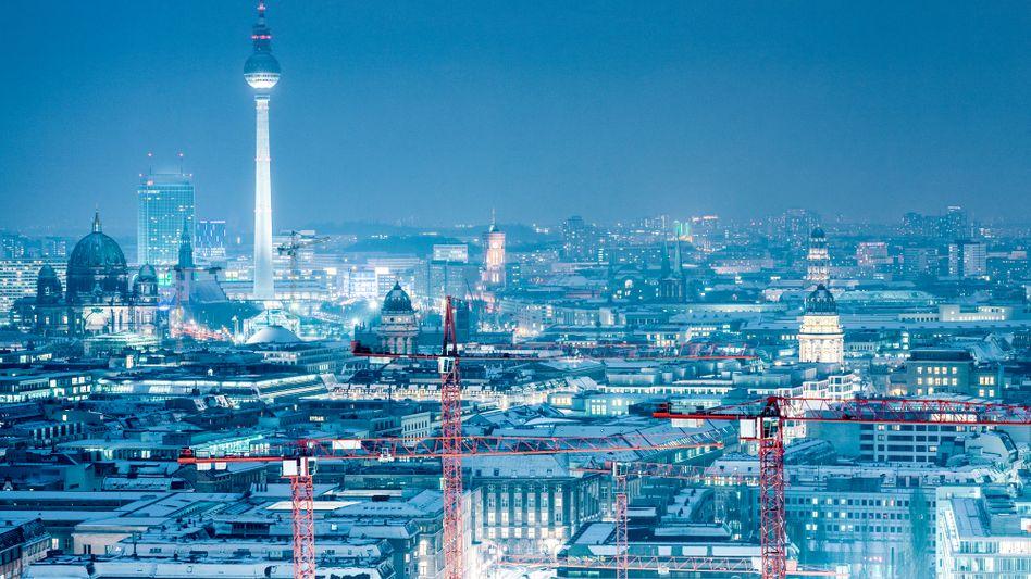 Mitteldüsteres Berlin der Zukunft