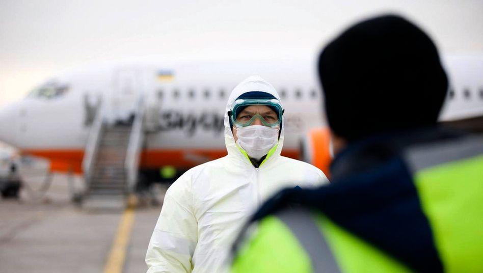 Ankunft von Passagieren aus China in der Ukraine (am 20. Februar): Wie stark beeinflusst das Coronavirus die Airlines?