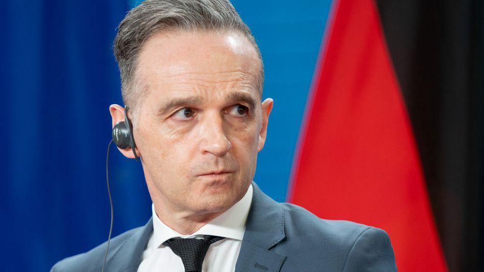 Muss sich »Versagen« vorwerfen lassen: Bundesaußenminister Heiko Maas (SPD)