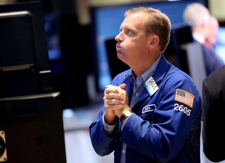 Börsenhändler in New York: Erinnerungen an die Immobilienkrise