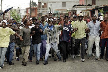 Proteste in Haiti: Zehn Millionen Dollar Soforthilfe