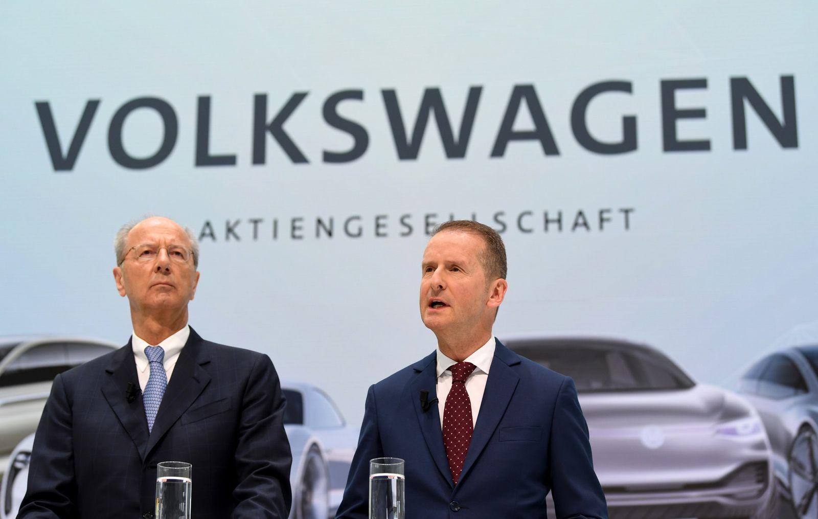 Herbert Diess und Hans Dieter Pötsch