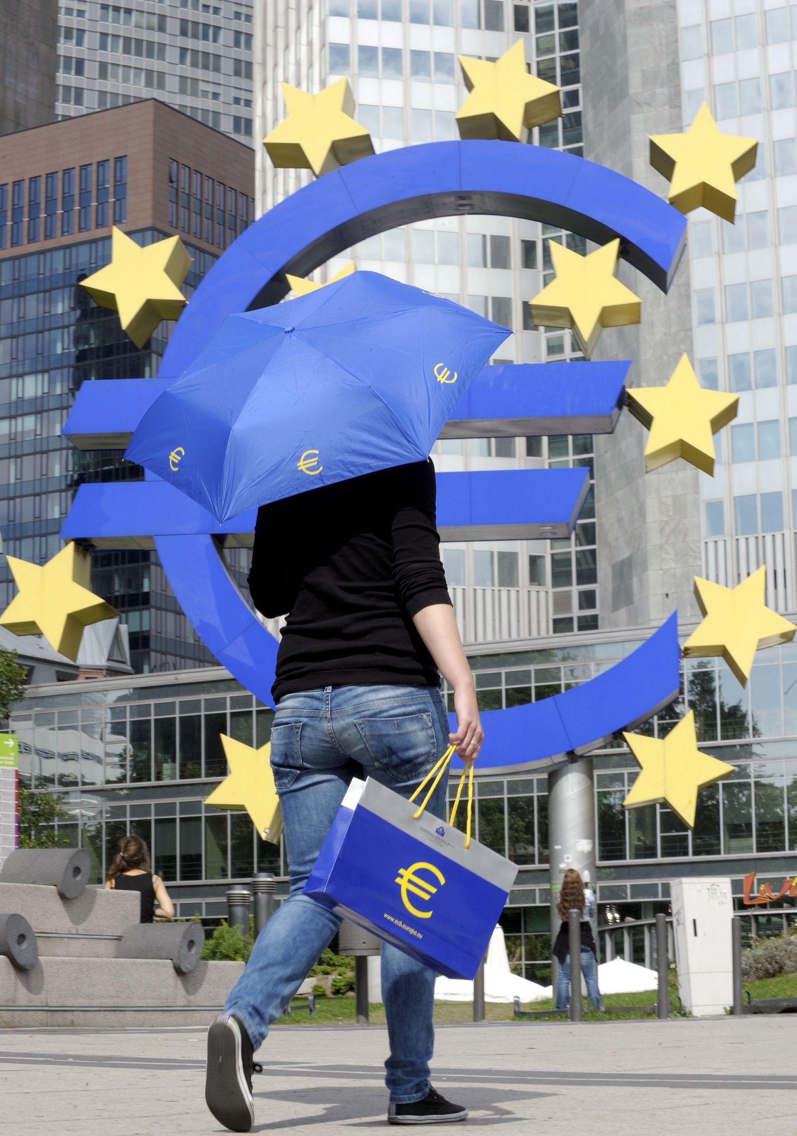 NICHT VERWENDEN Finanzkrise / EZB / Euro-Schirm
