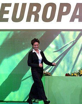 Auf dem Weg nach Europa: Grünen-Chefin Beer