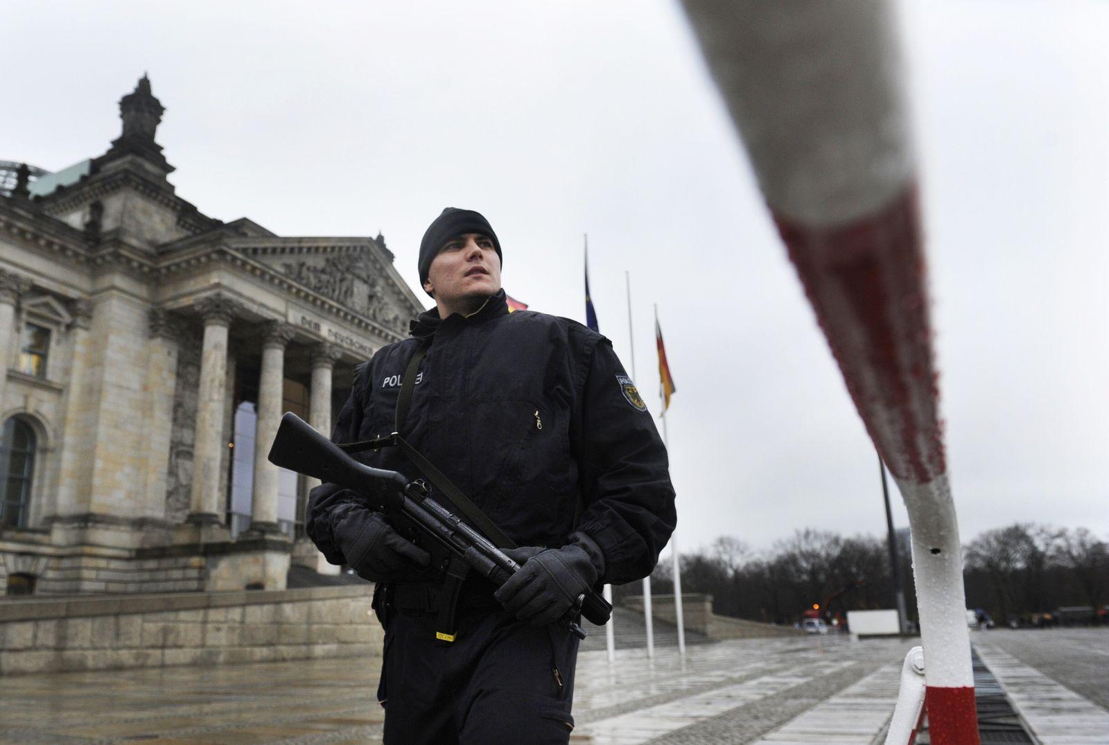 Terrorwarnung / Reichstag
