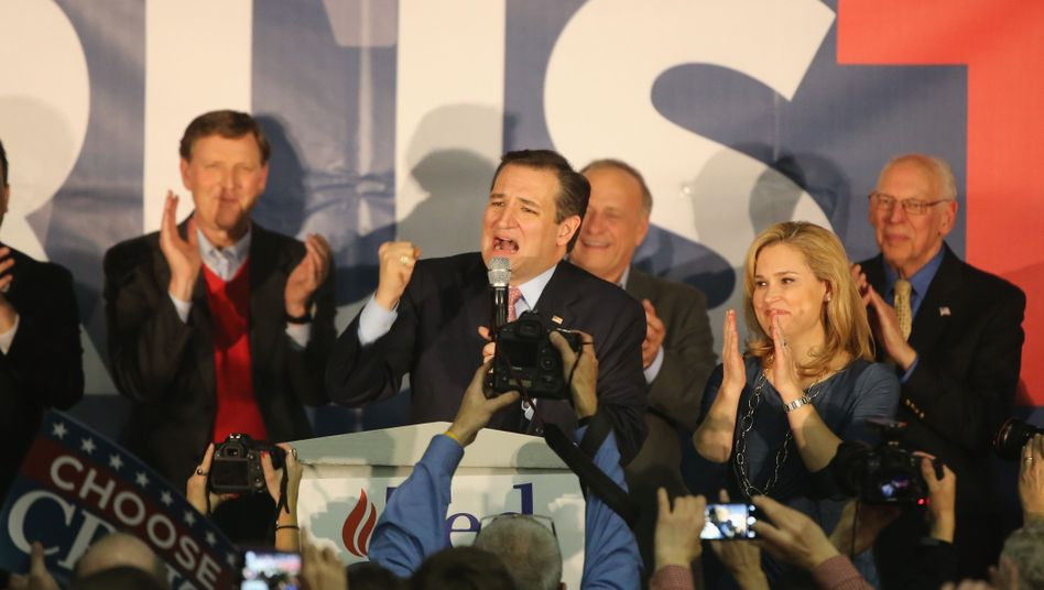 Ted Cruz: In Umfragen jetzt vor Trump