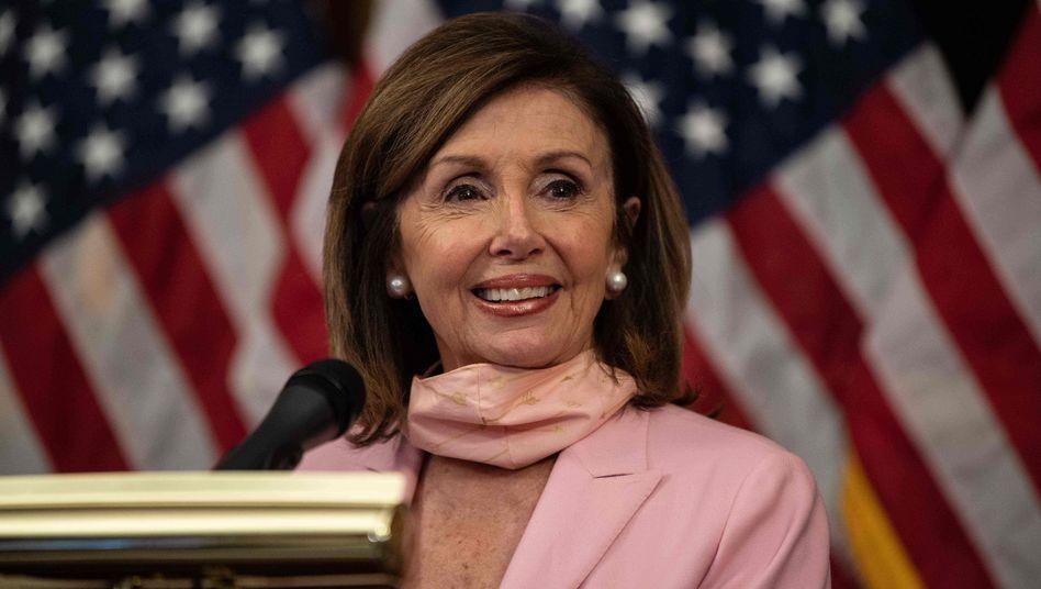"""Nancy Pelosi, Vorsitzende des US-Repräsentantenhauses: """"Das chinesische Regime glaubt, dass es straffrei handeln und den Geist der Demokratie unterdrücken kann"""""""