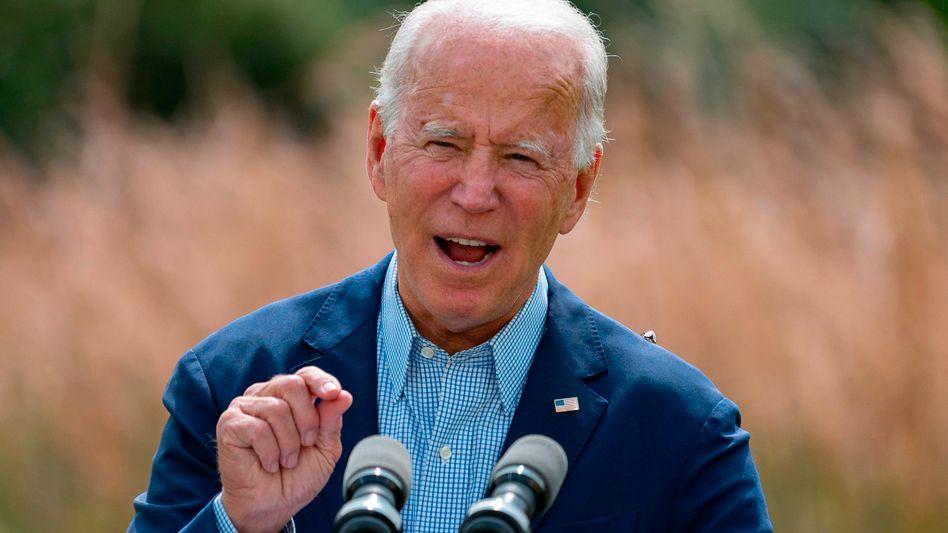 """US-Präsidentschaftskandidat Biden laut dem US-Journal """"Scientific American"""": """"Faktenbasierte Pläne zum Schutz unserer Gesundheit, unserer Wirtschaft und der Umwelt"""""""