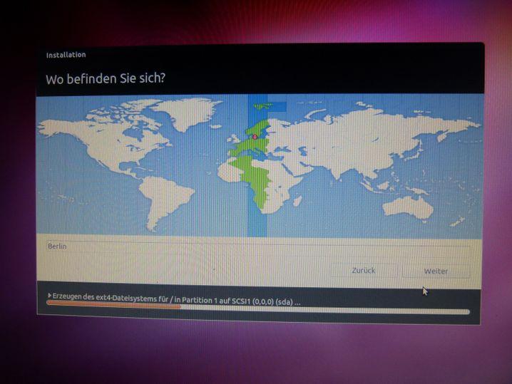 Zeitzone: Ubuntu stellt die Uhr