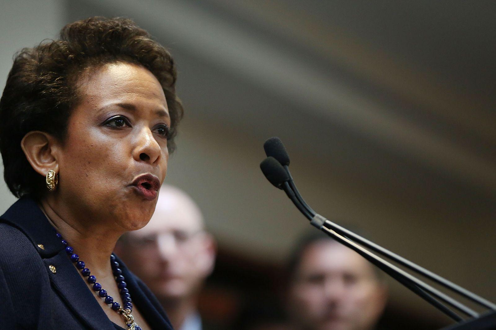 US-Justizministerin Loretta Lynch