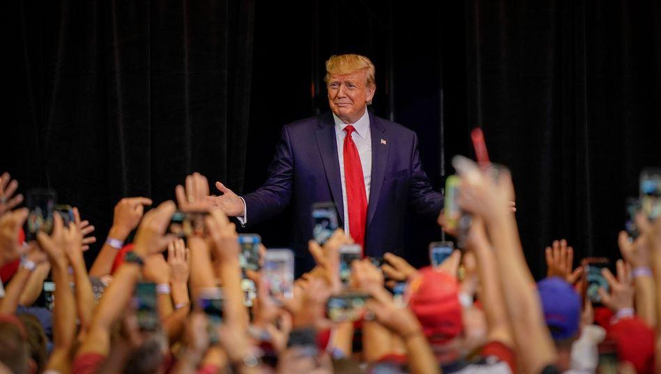 """US-Präsident Trump vor Anhängern: """"Schrecklicher Mangel an Visionen"""""""
