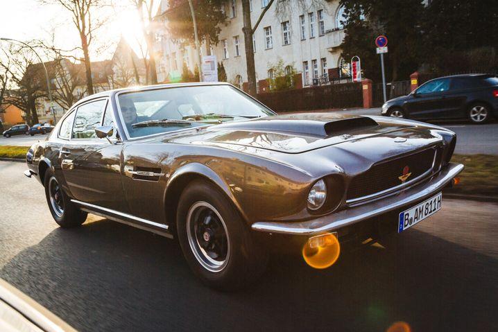 Aston Martin DBS: Ein weiterer Exot in Sobottkas Sammlung