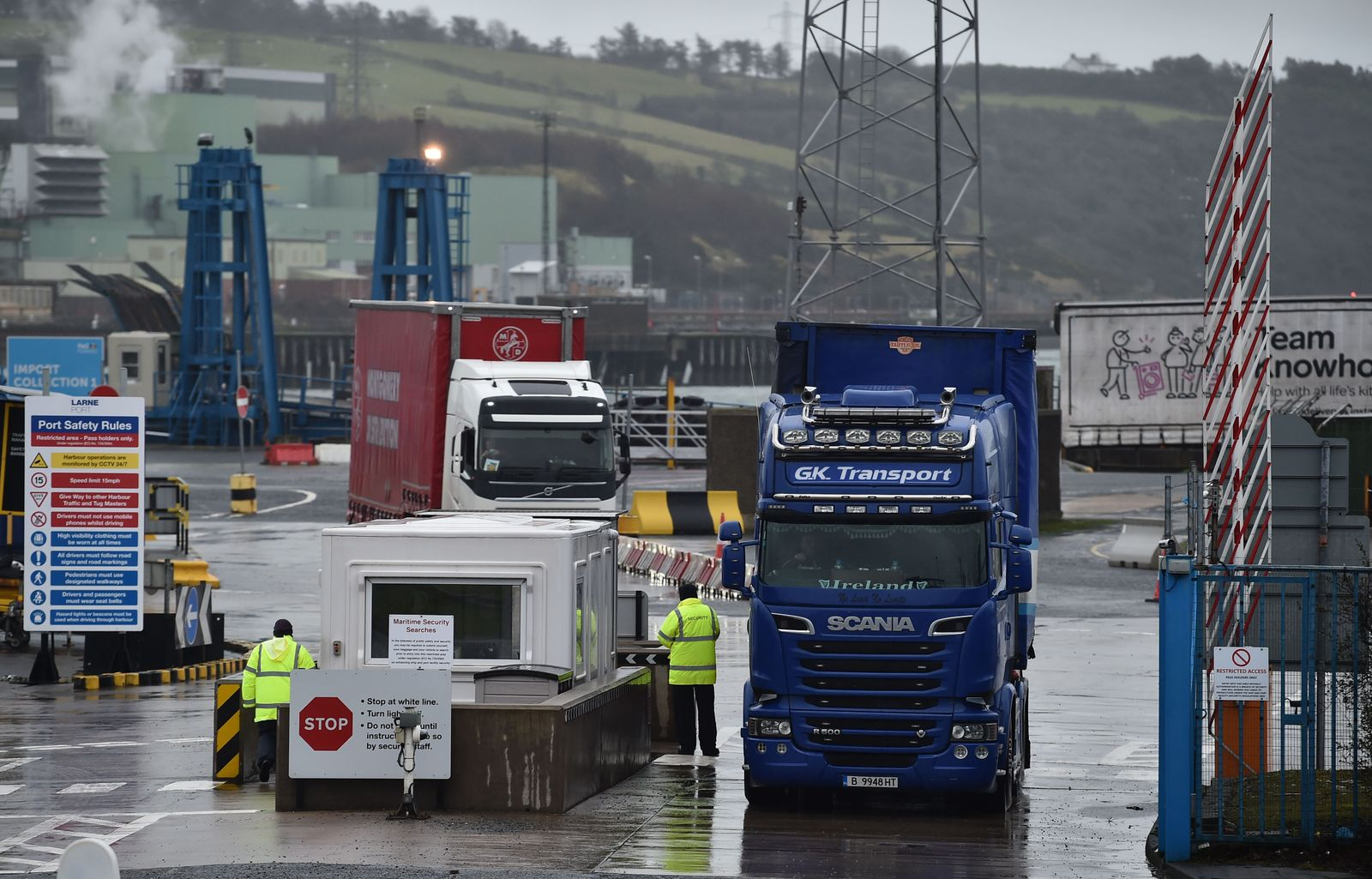 Northern Irish Ports Pull Inspectors Over Safety Concerns