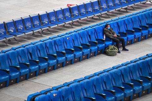 Ein einsamer Passagier