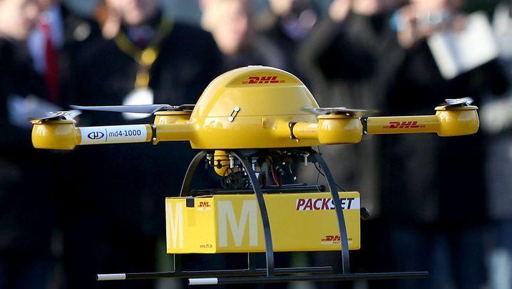Deutsche Post: Paket-Drohne im Testbetrieb