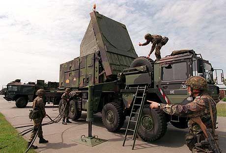 Radaranlage für Patriot-Raketen: Bald zum Schutz für Israel?
