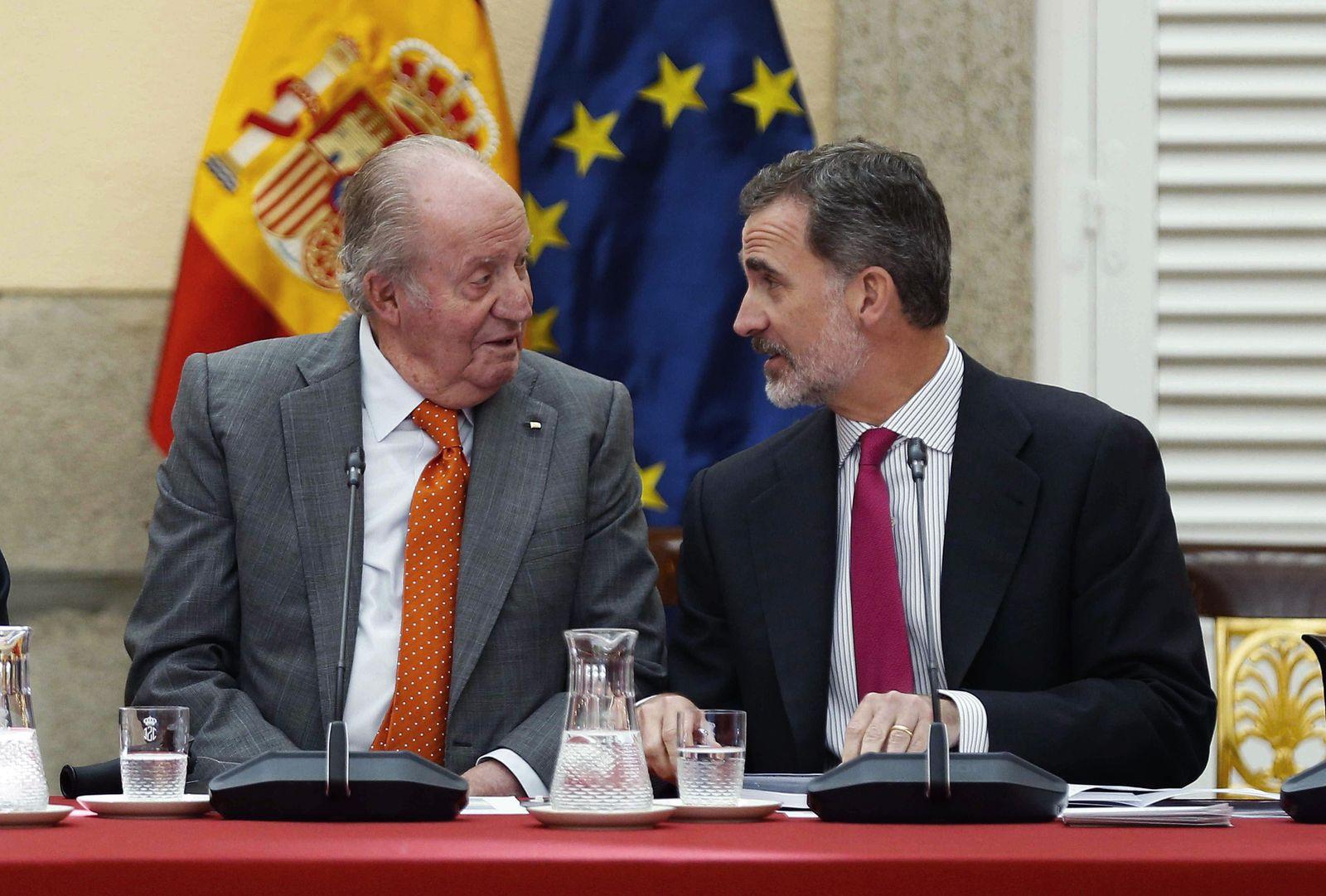 King Felipe VI renounces his father's heritage, Madrid, Spain - 15 Mar 2020