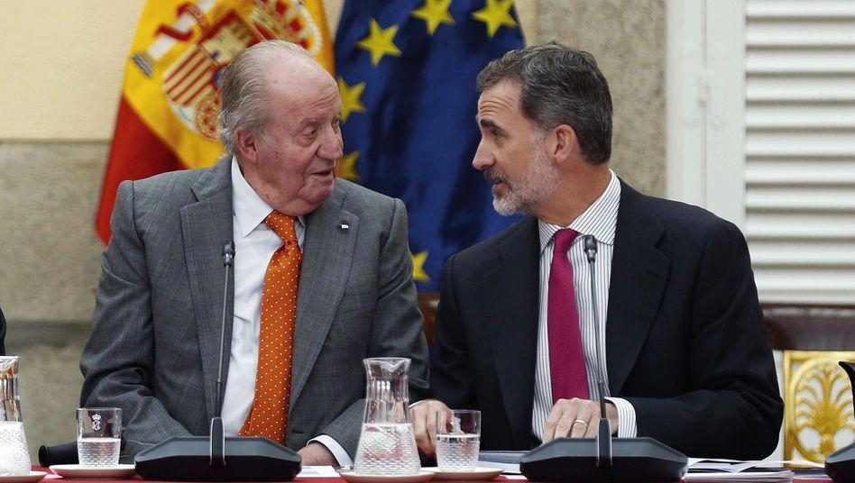 Spanien: Skandal um Juan Carlos - Felipe bricht Kontakt ab