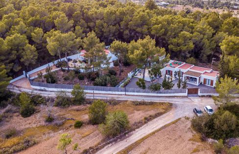 Wo alles geschah: die Ibiza-Villa
