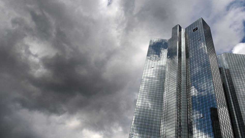 Zentrale der Deutschen Bank in Frankfurt: US-Behörden ermitteln