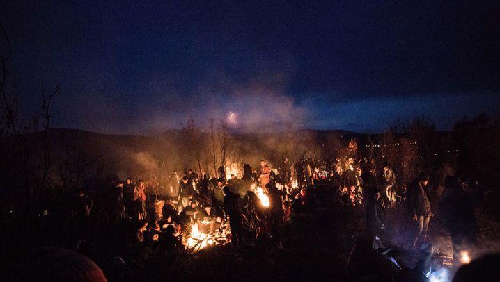 Endstation Lagerfeuer: Elendstreck von Idomeni gestoppt