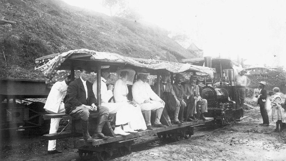 Eröffnung des Panamakanals 1914: Teddys Baggerträume