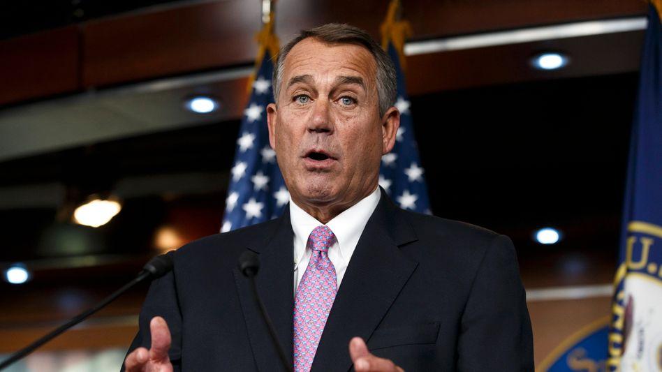 Top-Republikaner John Boehner: Einigung im Haushaltsstreit
