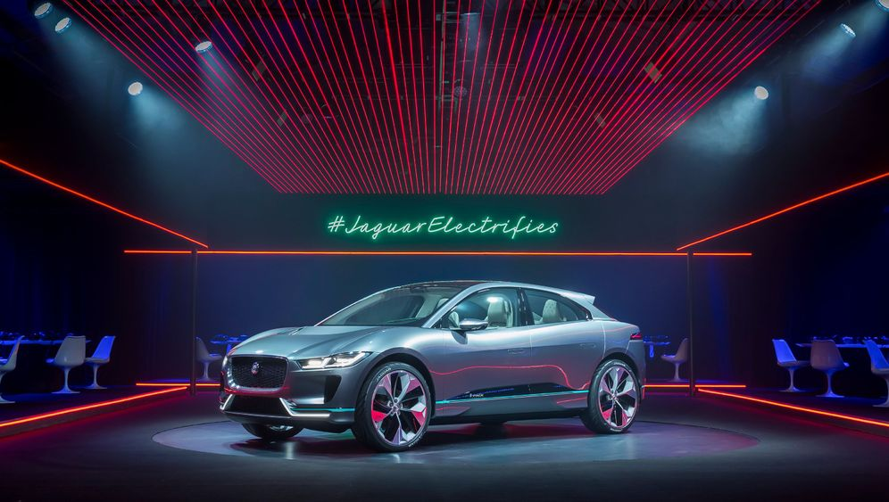 Jaguar iPace: Angriff auf Tesla