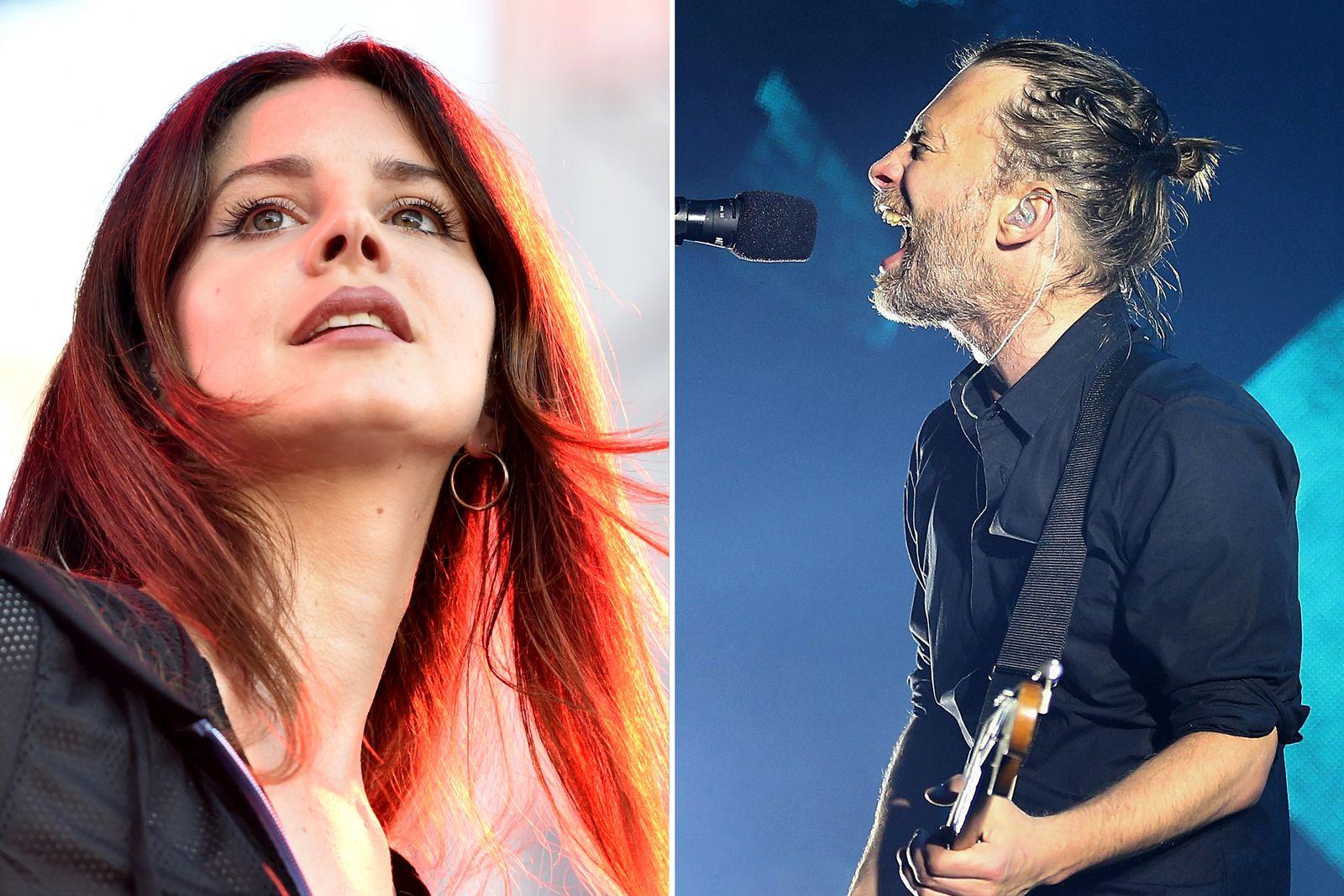 EINMALIGE VERWENDUNG Lana Del Rey vs. Radiohead KOMBO