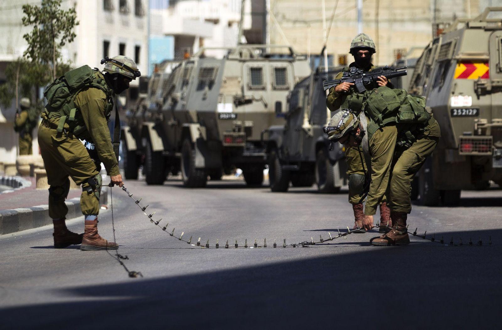 Israel Strassensperre
