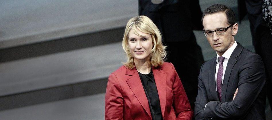 SPD-Ressortchefs Schwesig, Maas