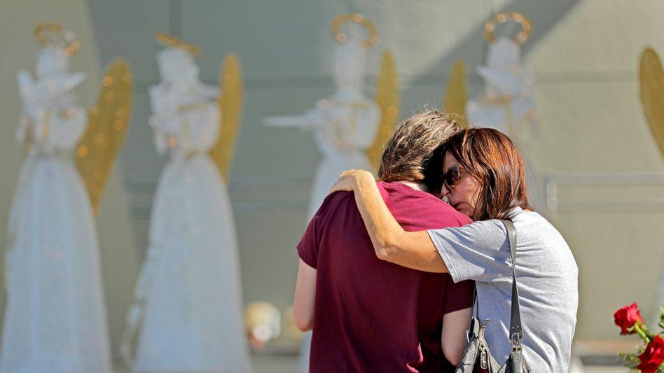 Trauer nach dem Massaker in Parkland