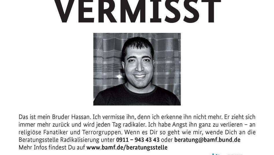 """Umstrittene Plakat-Aktion """"Vermisst"""": Muslimverbände sind empört"""