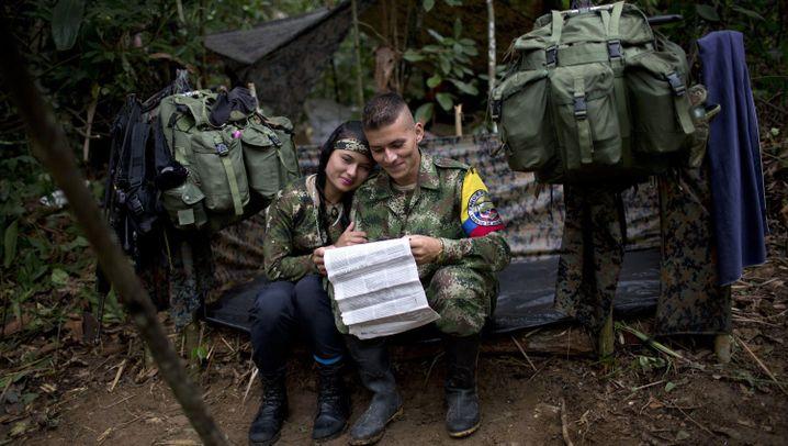 Farc-Alltag: Zwischen Brutalität und Dschungelromantik