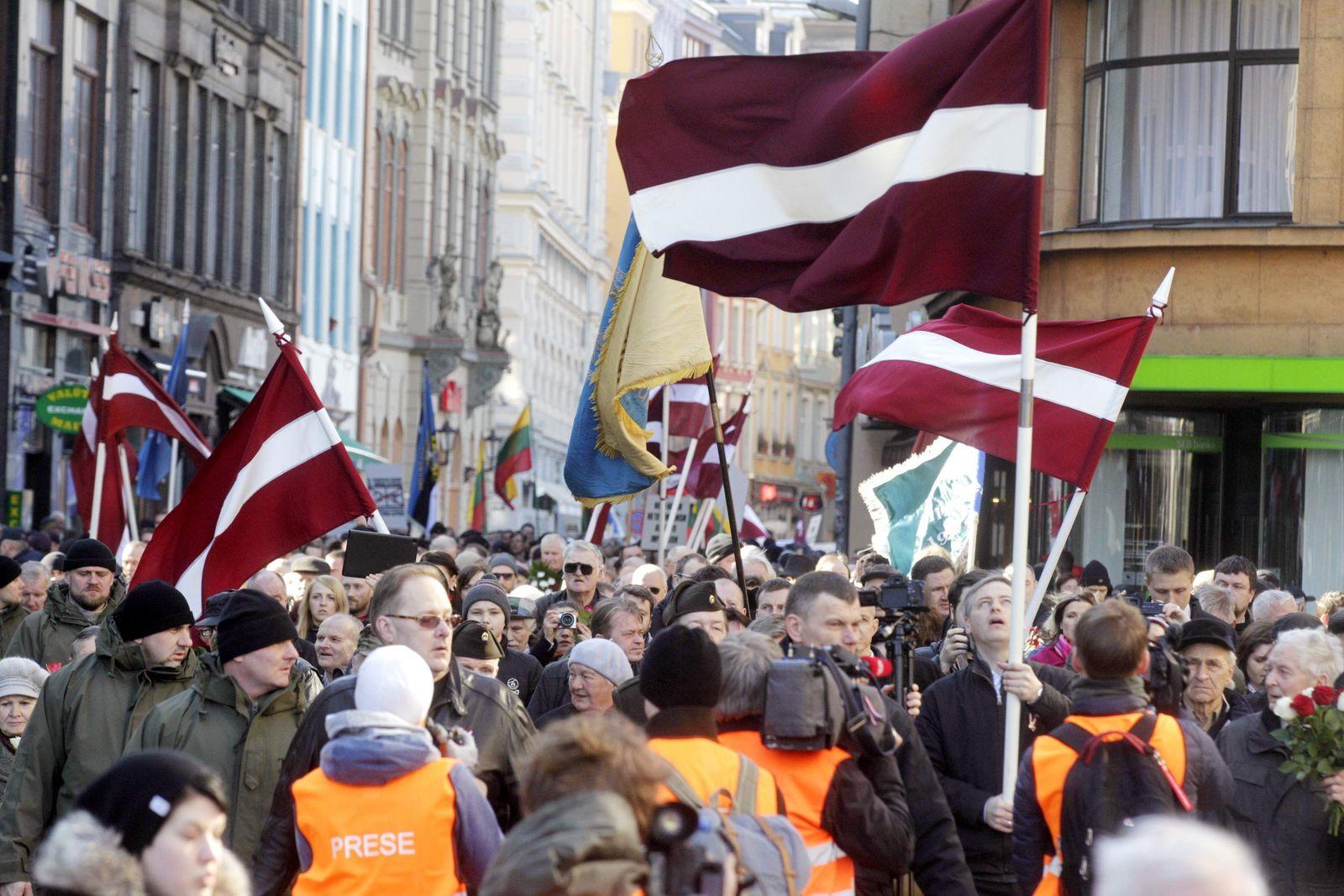Riga / SS-Veteranen