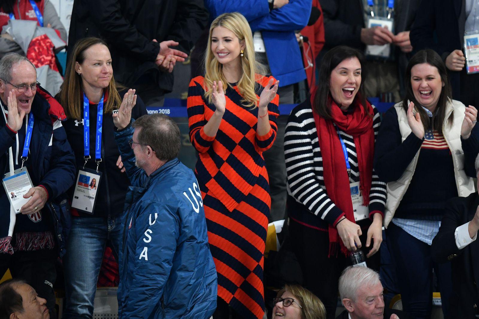 Ivanka Trump Curling