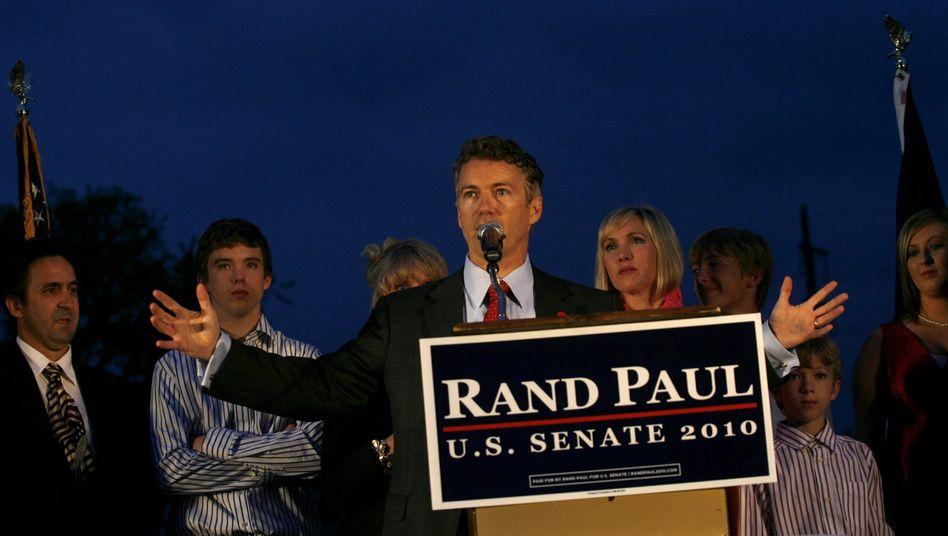 Tea-Party-Vorkämpfer Paul: Seine Rede klingt wie ein Aufruf zur Revolution in Washington