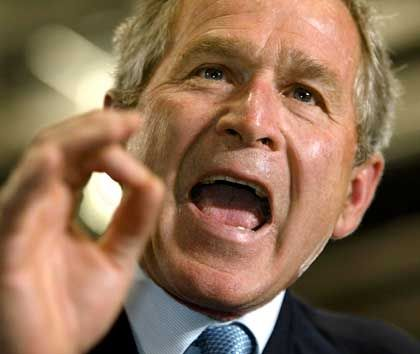 Fremdzüngler Bush: Don't only read his lips - look up in the dictionary!