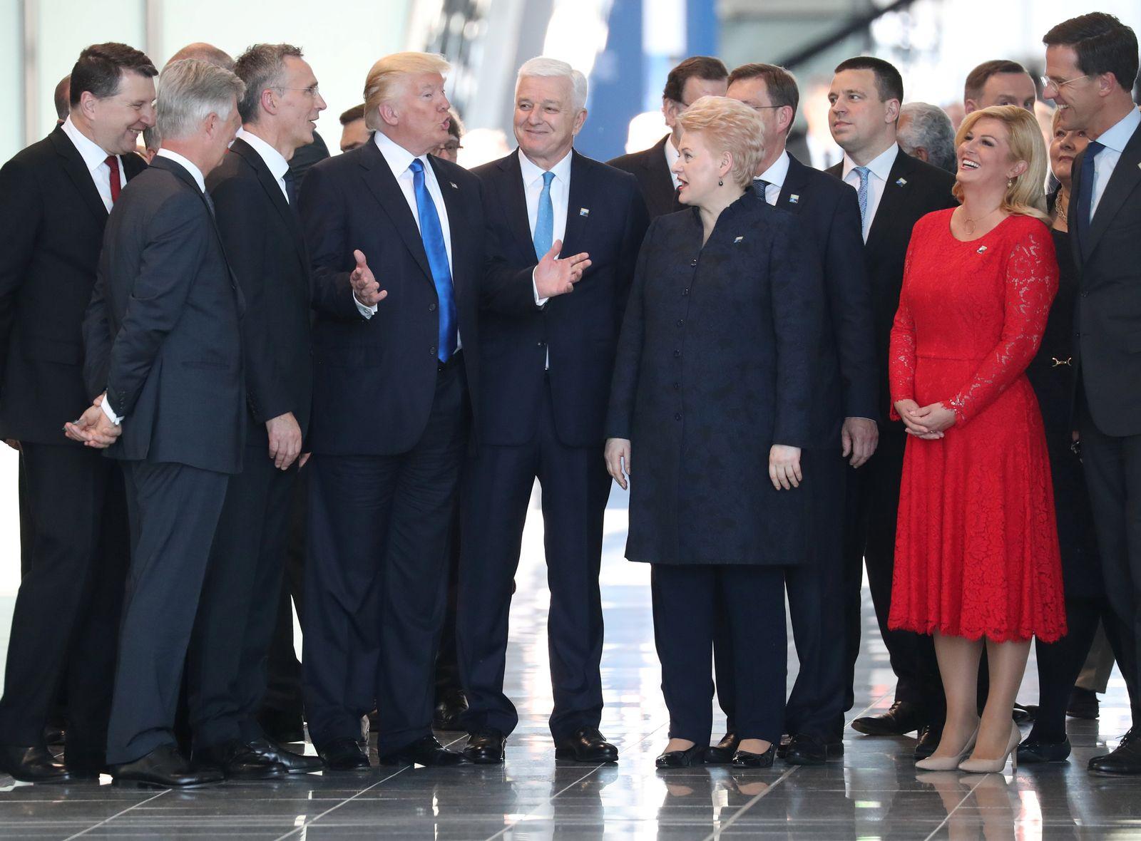 Trump und Dusko Markovic