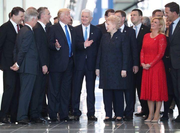 Trump beim Nato-Gipfel in Brüssel