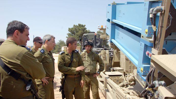 Israel: Hightech-Systeme gegen Raketen