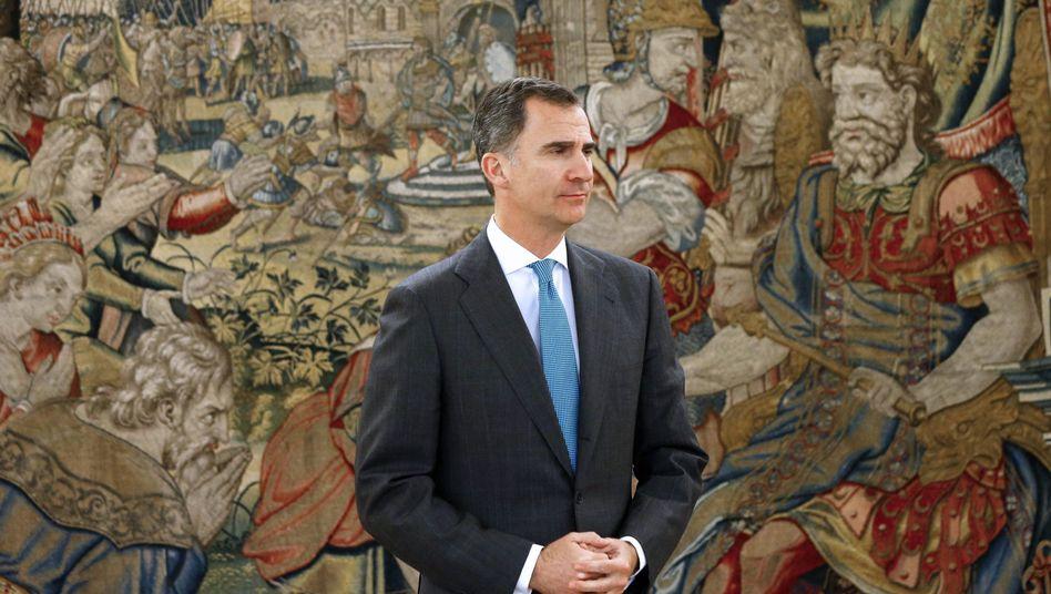Spaniens König Felipe VI.