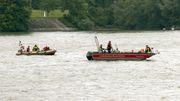 Frau nach Badeunfall im Rhein vermisst – Ehemann gerettet