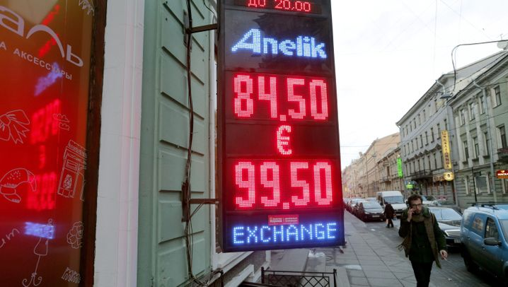 Börsencrash in Russland: Wohin der Rubel rollt