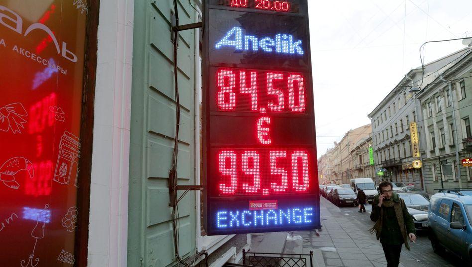Rubel-Absturz: Russland-Crash erreicht Deutschland