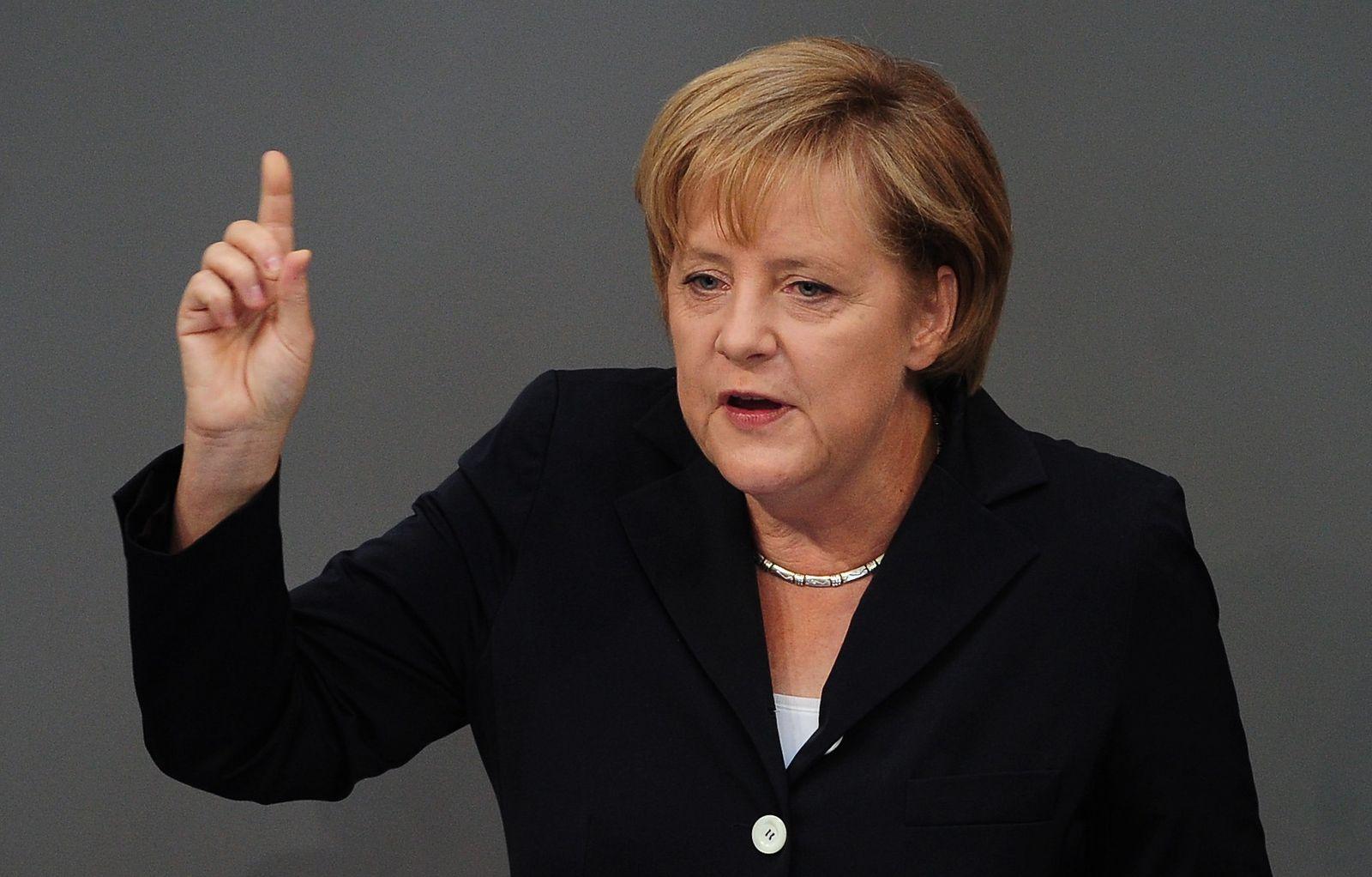 Bundestag/ Merkel